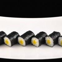 Vegetarische sushi: Maki Takuan