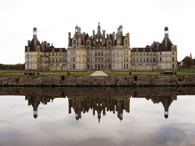 Château de Chambord in France / photo by xiaoran.fr