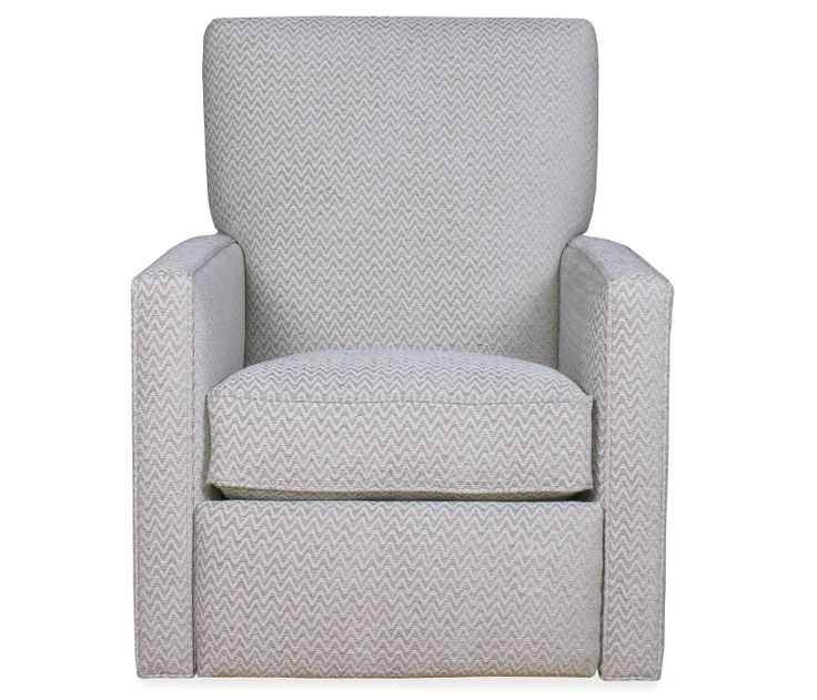 Boston Interiors Regency Swivel Recliner, The Regency comes standard with down blend cushions and push-back reclining system. Can be special ordered with non-down cushions.