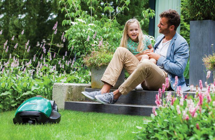 Piękny Ogród z Piękną Trawą -  Robomow RC