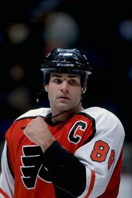 Eric Lindros | Philadelphia Flyers | NHL | Hockey