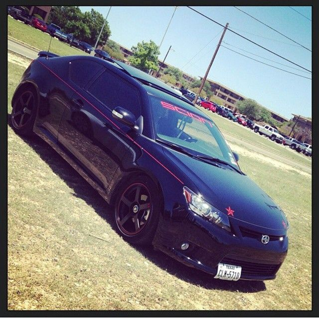Scion tC custom owned in USA #ForTheDriven #Scion #Rvinyl =========================== http://www.rvinyl.com/Scion-Accessories.html