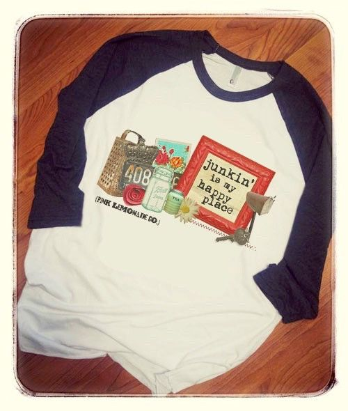 Junkin' is My Happy Place T-Shirt