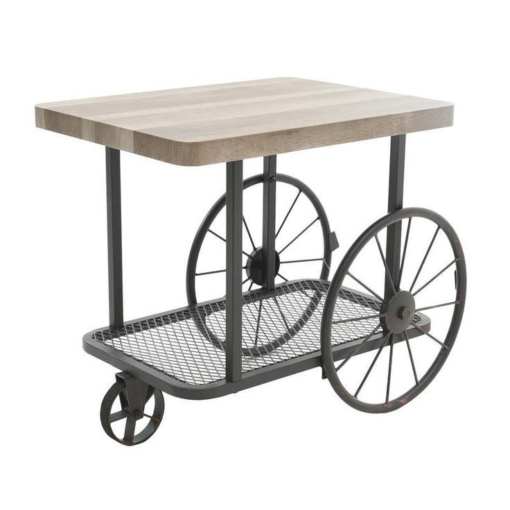 Side Table With Wheels - Coffee Tables - FURNITURE - inart