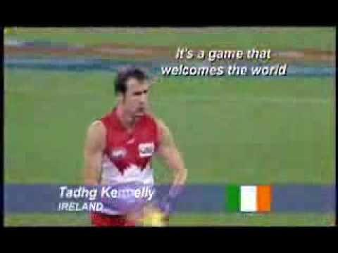 Aussie Rules Football Promo