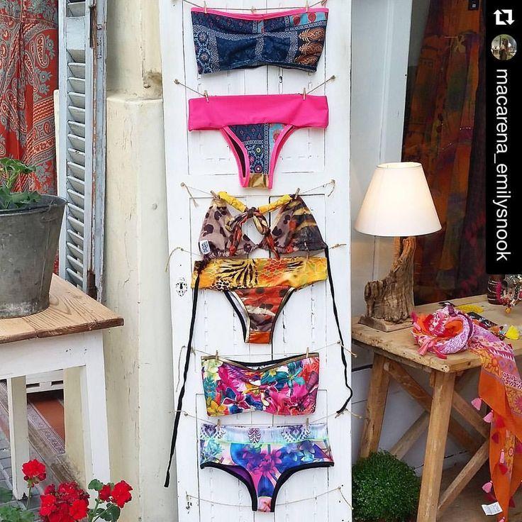 Diferentes, únicos, geniales!  Si conoces Santa Braguita, te vas a enamorar!  #Repost @macarena_emilysnook ・・・ Estos son los tres modelos de bikinis que tenemos. En muchos y diferentes estampados para lucir diferente en la playa!!...