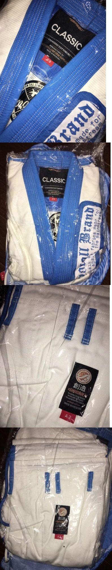 Uniforms and Gis 179774: Shoyoroll Clear Skies W/Blue Lapels A2 ***Bnib*** Uber Bjj Kimono -> BUY IT NOW ONLY: $450 on eBay!