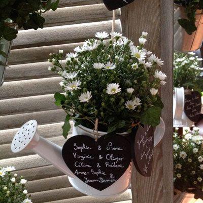 D coration florale des fleurs plein la t te d co mariage pinterest - Decoration florale mariage ...