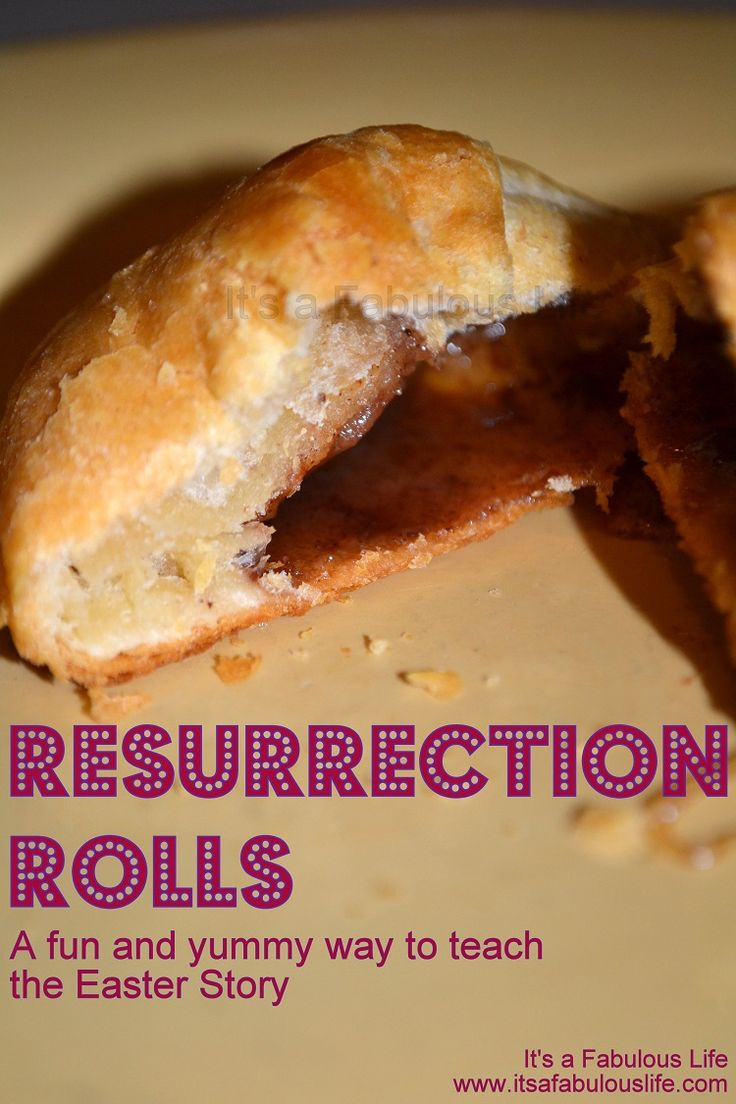 Resurrection Rolls - A Fun (and Yummy) Easter Tradition - It's A Fabulous Life