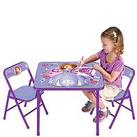 Disney Jr. Sofia the First Activity Table Set