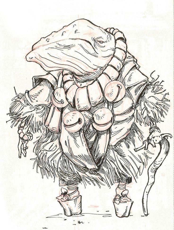 Sketchbook drawings, Maciej Rudnicki on ArtStation at https://www.artstation.com/artwork/x0v01