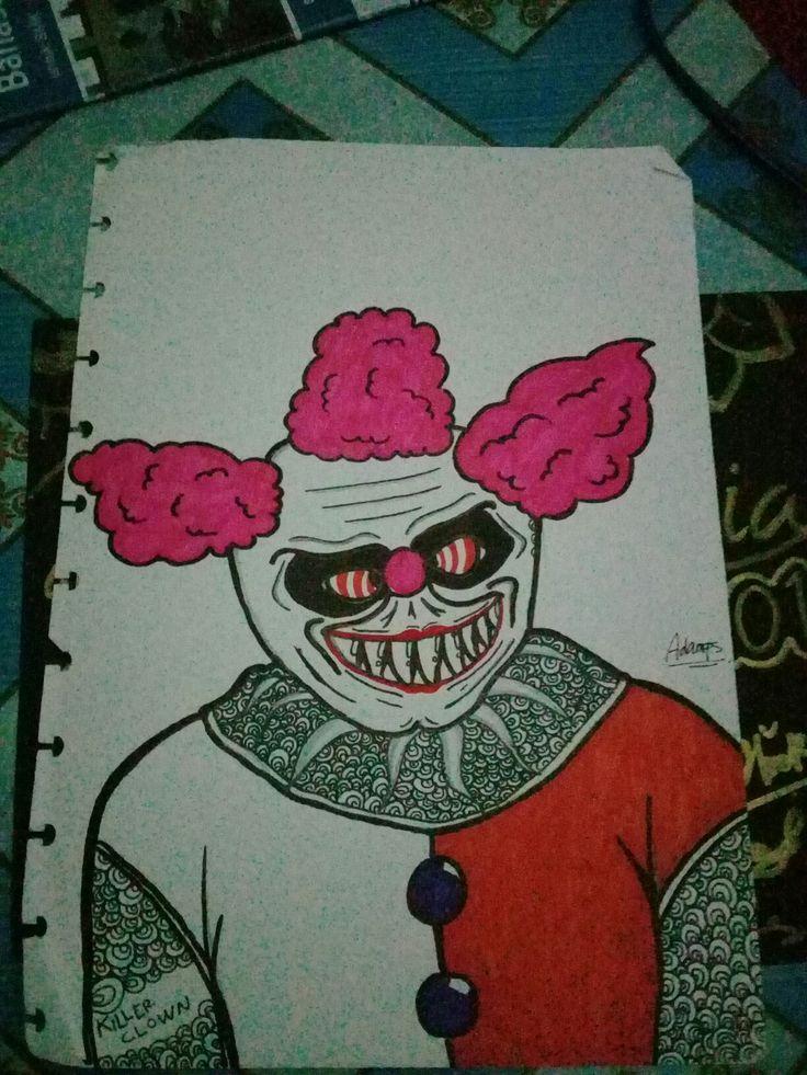 Killer Clawn art sketch