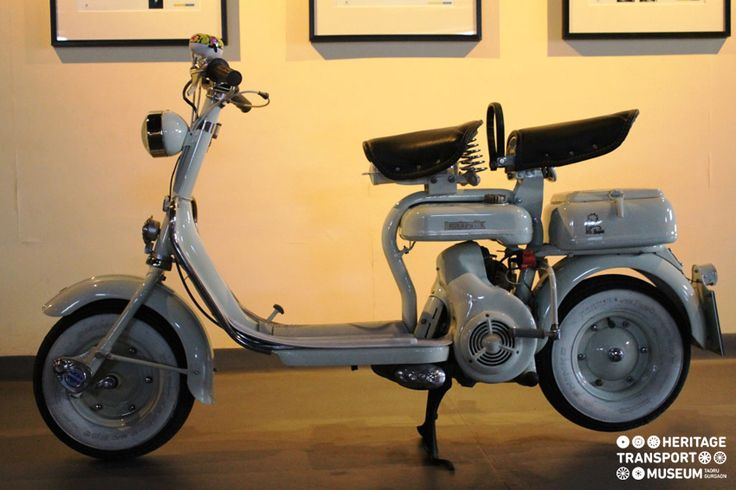 Take a look at this #vintage vehicle, D Model #Lambretta #Scooter from #Poland! :)