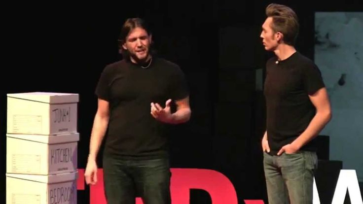 A rich life with less stuff: The Minimalists at TEDxWhitefish--lives that lqck meaning, purpose, passion....distraction choking your passion and mental energy