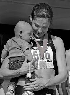Kara Goucher balances motherhood, training as she preps for London - Wellsphere