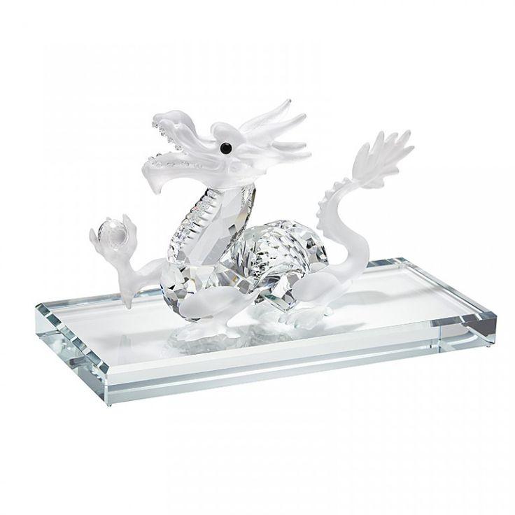 Valkoinen lohikäärme :: Kristallikauppa 100%:sta Bohemian Kristallia