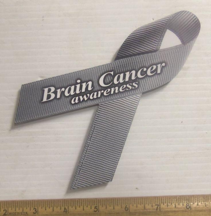 Brain Cancer Awareness Magnetic Ribbon