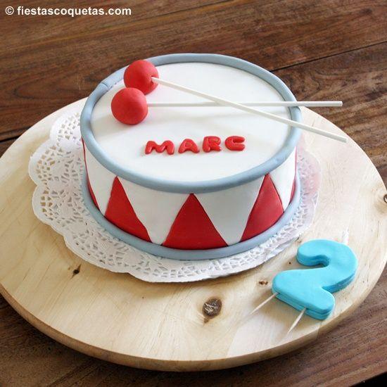 ...ni que hecho a posta!!! (I)  tarta tambor