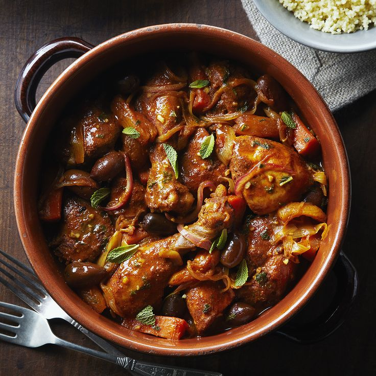 Chicken Tagine With Leeks and Carrots #SchoolYourChicken