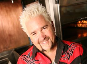 Guy Fieri's Grilled Tequila Lime Fish Tacos: http://dadt.com/live/recipe-finder.html?recipeID=16231  Black Bean Avocado Salsa with Corn: http://dadt.com/live/recipe-finder.html?recipeID=16232