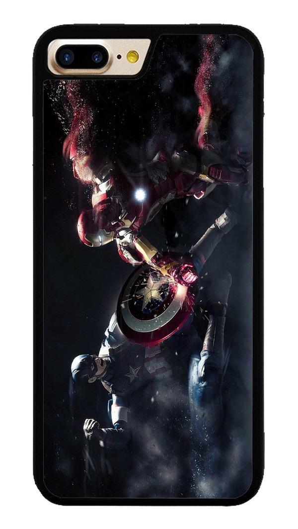 Captain America VS Iron Man for iPhone 7 Plus Case #CaptainAmerica #ranger #avangers #Marvel #iphone7plus #covercase #phonecase #cases #favella