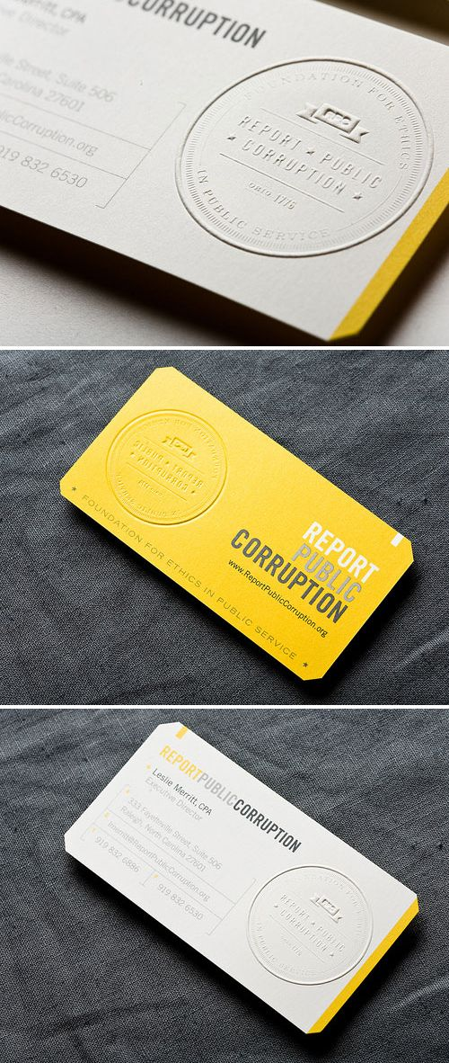 Business Card | Embossed