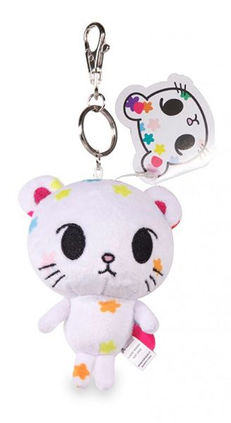 Tokidoki Palette Keychain Plush : Plush keychain of your favorite Tokidoki characters  Metal keychain for maximum durability Perfect for Back to School Approximately 4″ tall