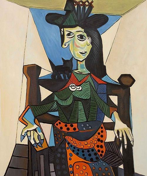 Auf dem Gemälde von Pablo Picasso aus dem Jahr 1941 ist Dora Maar, Picassos einstige Muse, verewigt. Der Käufer, der bei einer Auktion bei Sotheby's 2006 95,2 Dollar bezahlte, blieb anonym.