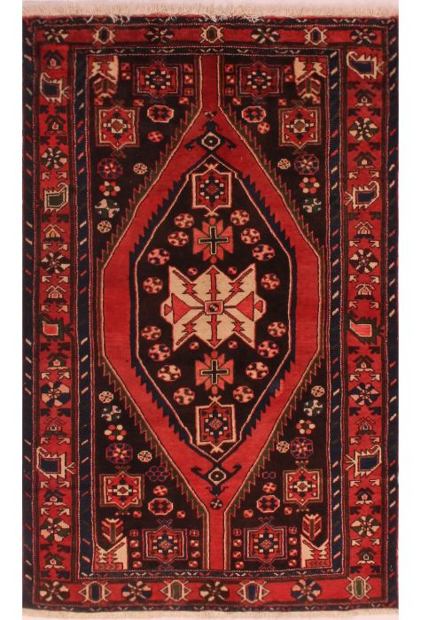 Mazlaghan Persian rug. Wool. Hand Knotted. 120 x 203 http://www.rugman.com/persian-mazlaghan-design-oriental-area-rug-medium-size-wool-red-rectangle-400-16722