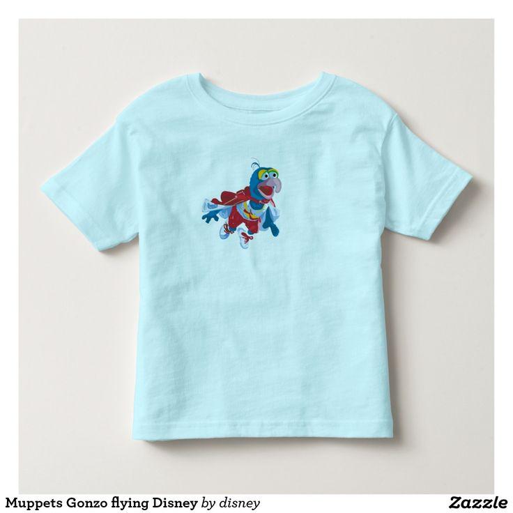 The muppets -  Gonzo que vuela Disney Playeras. Baby, bebé. Producto disponible en tienda Zazzle. Vestuario, moda. Product available in Zazzle store. Fashion wardrobe. Regalos, Gifts. Link to product: http://www.zazzle.com/muppets_gonzo_que_vuela_disney_playeras-235122249452004019?lang=es&color=lightblue&CMPN=shareicon&social=true&rf=238167879144476949 #camiseta #tshirt