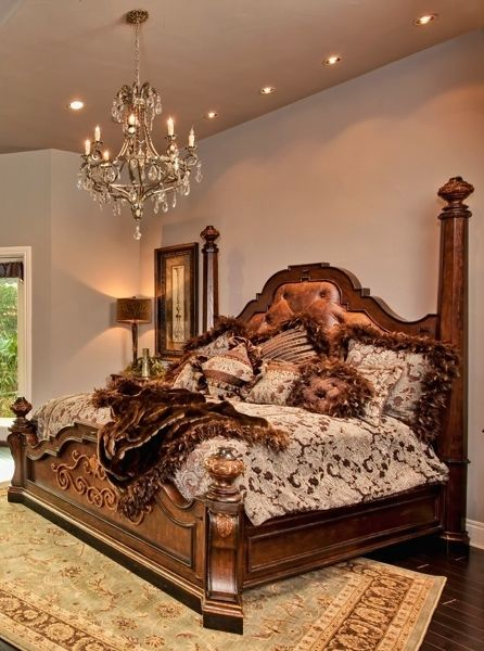 tuscan style bedroom furniture. Tuscan Style Bed With An Amazing Bedding Set Bedroom Furniture E