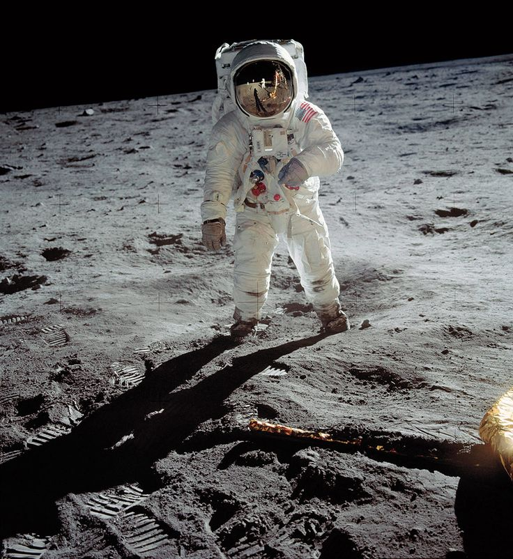 A Man on the Moon by Neil Armstrong, NASA