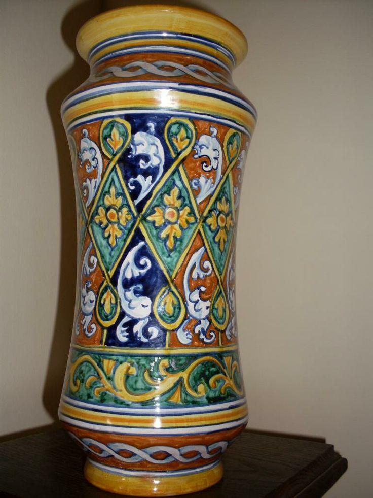 albarello maiolica faenza - Cerca con Google