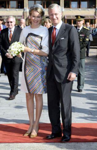 Queen Mathilde, September 24, 2013 | The Royal Hats Blog