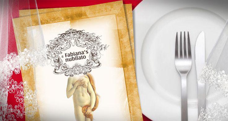 #menù per #addio al #nubilato personalizzato con l'immagine della #venere e con il nome della #festeggiata
