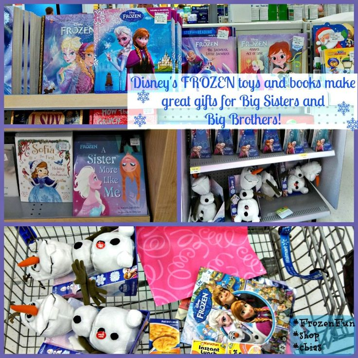 FROZEN gift bags make perfect Big Brother & Big Sister gifts! #FrozenFun #shop #cbias
