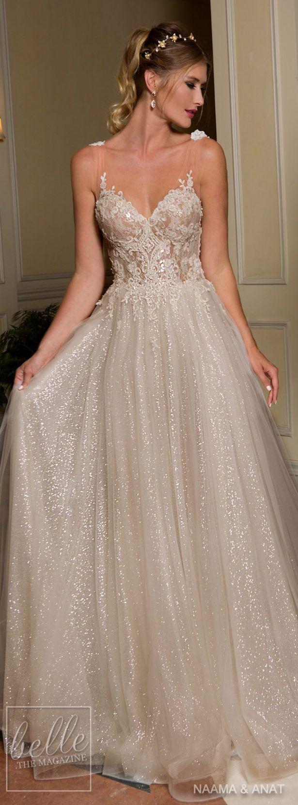 "Naama & Anat 2018 Wedding Dresses - ""Starlight"" Bridal Collection www.pinterest.com/laurenweds/wedding-dresses?utm_content=buffer366ee&utm_medium=social&utm_source=pinterest.com&utm_campaign=buffer"