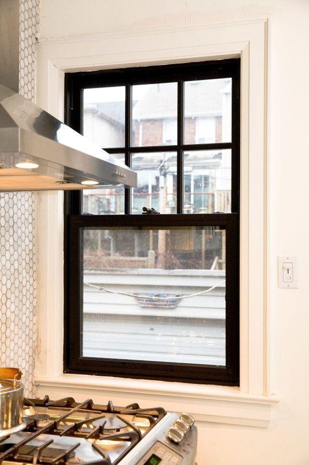 Pin By Janna Lenz On Design Black Window Frames Interior Windows Black Windows