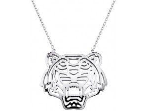 Collier Kenzo. Bijoux créateurs. En vente en boutique et sur notre site internet : http://www.bijouterie-influences.com/search.php?search_query=tiger