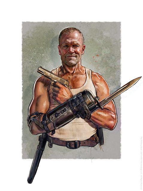 Cool Art: Hero Complex Gallery presents 'The Walking Dead' - Art by Jason Palmer