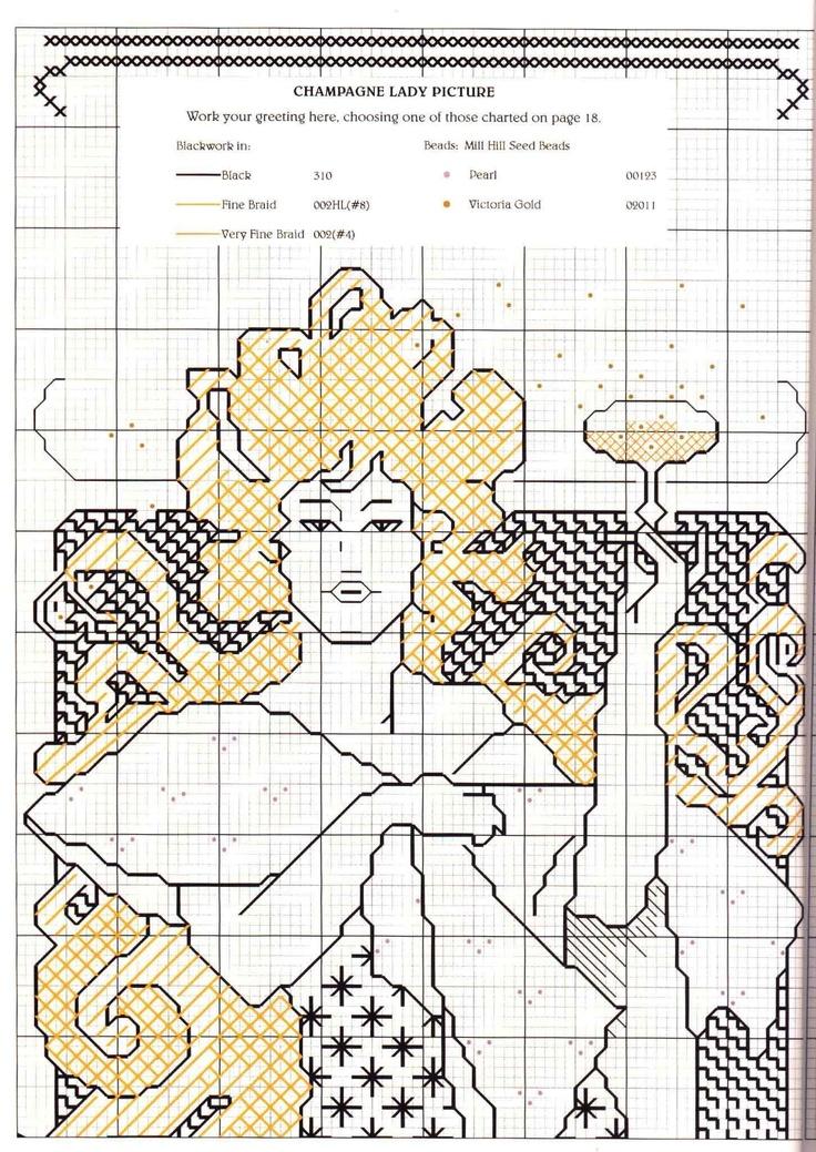 Mejores 261 imágenes de BLACKWORK en Pinterest | Adornos blackwork ...
