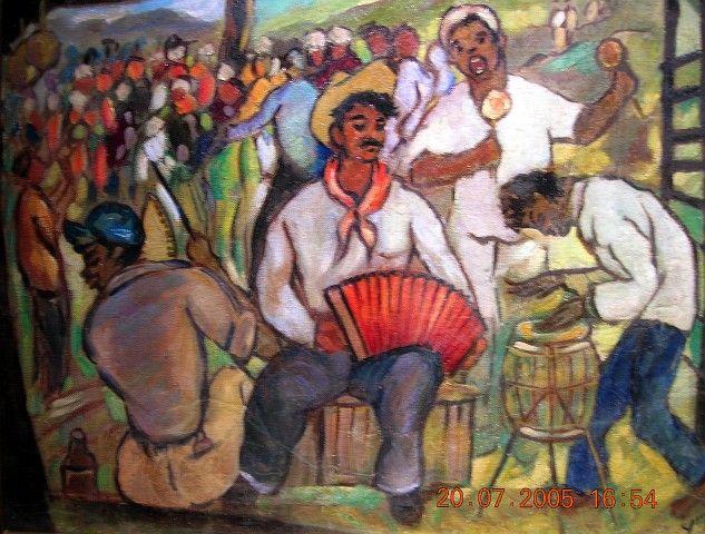 Que no me quiten lo pintao (mié 17 ago 2005) www.aerolatino-geba.com.ar633 × 480Buscar por imagen Yoryi Morel (1906-1979), Fiesta Campesina, 1959, Oleo, 106 x 160 cm [Foto Patricia Leal] manuel dominguez pintor - Buscar con Google