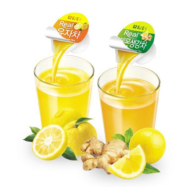 "[""Damtuh"" Capsule Citrus Tea/ Ginger Lemon Tea]"