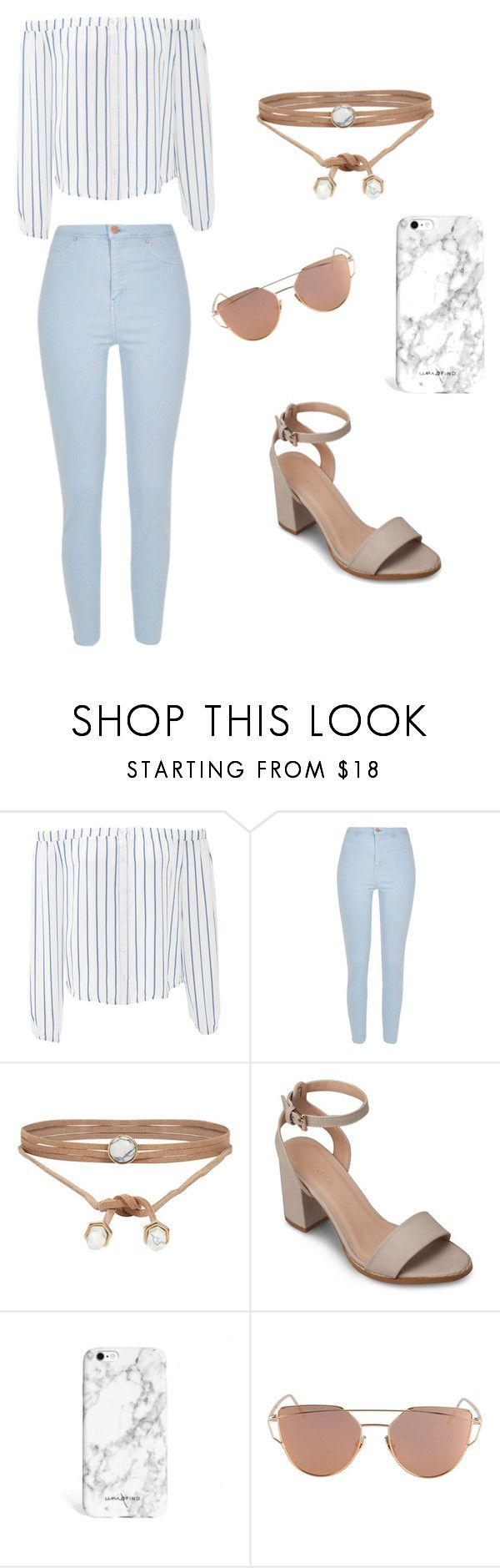 """""""Dreaming of Marble & Baby Blue"""" by corinthiaclay on Polyvore featuring J.O.A., River Island, ALDO and ZALORA"""