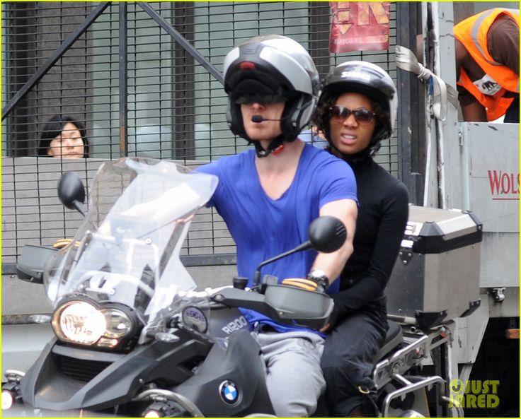 michael fassbender motorcycle | Michael Fassbender: Motorcycle Ride with Nicole Beharie! | Michael ...