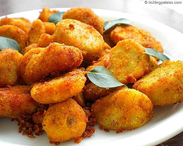 Cheppakizhangu Fry / Taro Root Fry