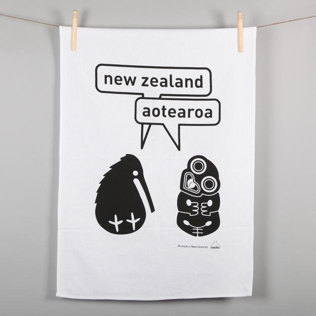 Aotearoa Tea Towel.