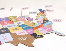 Mr. Printables USA puzzle  Just print out the colorful map, mount onto a piece of cardboard and then cut out your pieces with a craft knife.