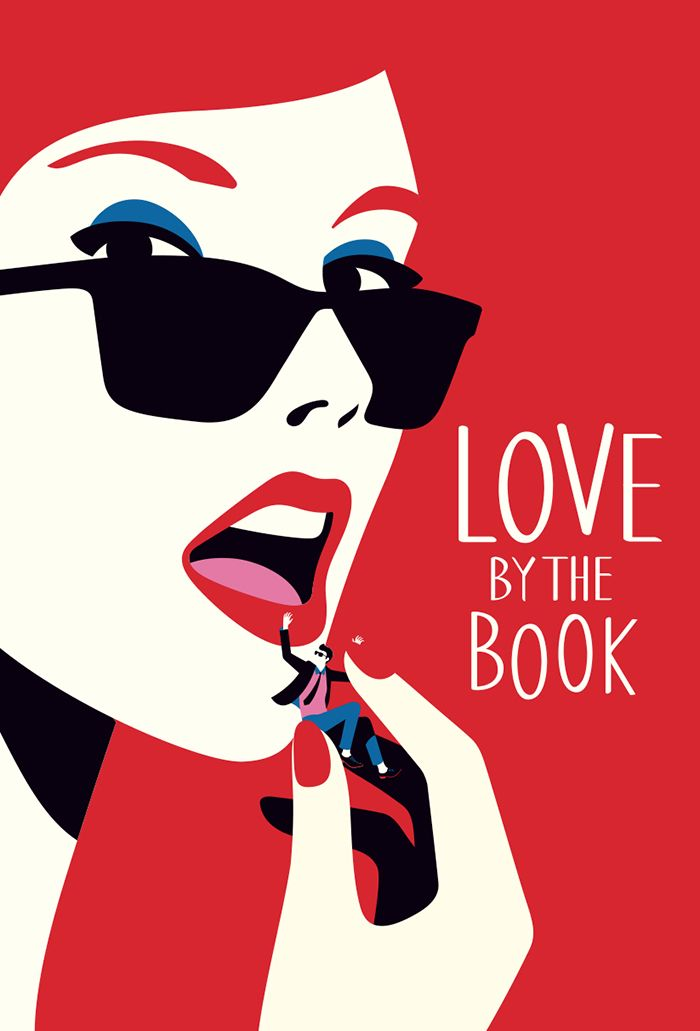Love By The Book Penguin US  - Cover illustration commissioned by Penguin books for Melissa Pimentel latest fiction.