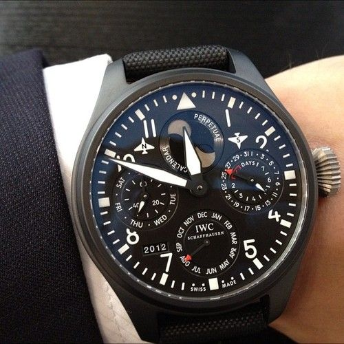 This guy has a perpetual calendar all manual movement. It's pretty sweet but its massive in real life and would set you back $30k.
